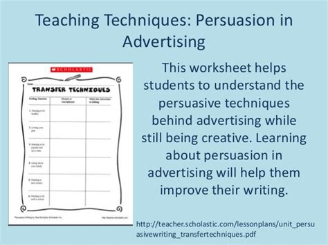 Persuasive Techniques Essay by Persuasive Essay Advertising