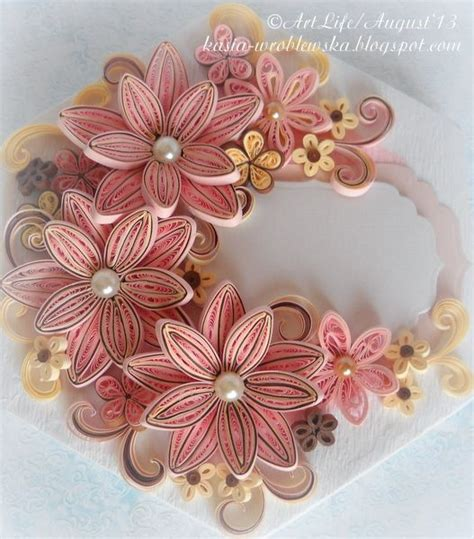 floral chest best design ideas decorated box in three colours ecru pink and brown by