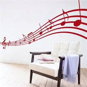 Music Notes Wall Stickers Wall Stickers Musical Notes Wall Decals