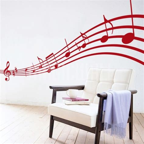 musical note wall stickers wall stickers musical notes wall decals