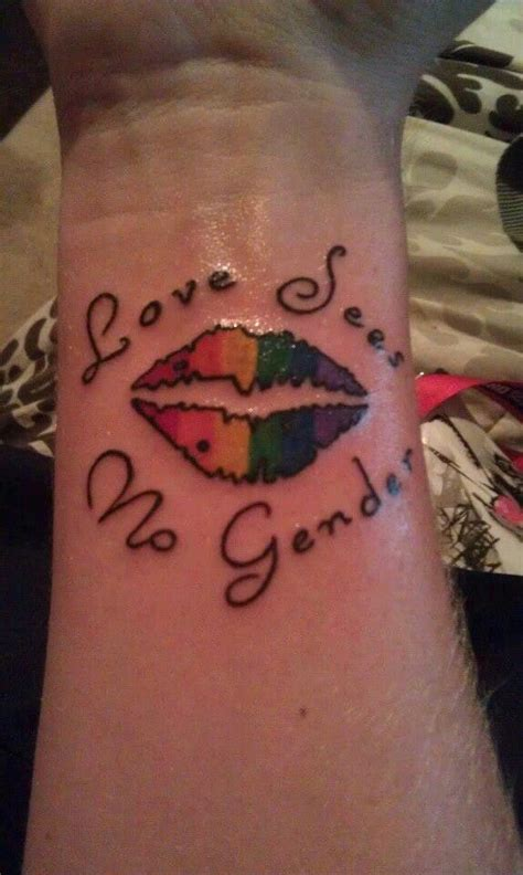 lesbian tattoo 47 best tattoos images on pride