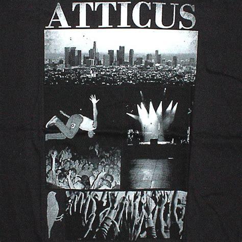 Kaostshirtt Shirt Atticus Black atticus t shirt scaped slim black temple of deejays