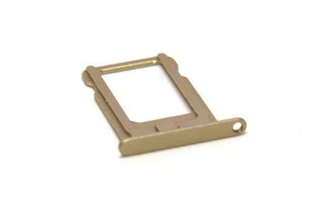 Sim Tray Tempat Dudukan Sim Card 5 Air Simlock 905256 905264 sim card tray holder slot replacement part for iphone 5s gold