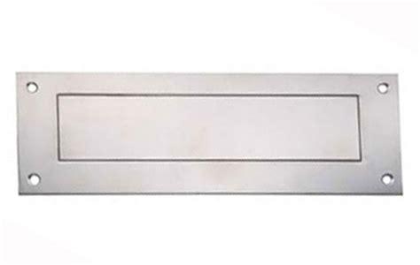 stainless steel front door furniture inner tidy 400 x 125mm stainless steel stainless steel