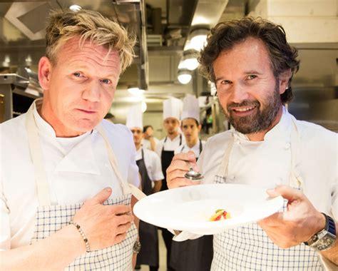 la cucina di cracco carlo cracco e gordon ramsey la sfida dei due chef pi 249