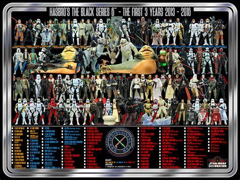 figure checklist black series 6 quot figure checklist poster
