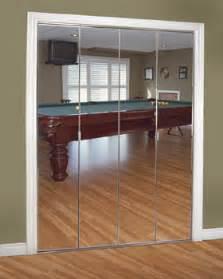 Frameless Mirror Bifold Closet Doors by Closet Doors Painted Glass