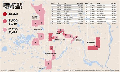 us area codes minnesota cities renters pay the most to live in these zip