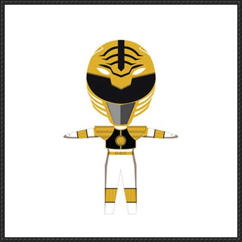 How To Make A Paper Power Ranger Sword - power rangers papercraftsquare free papercraft