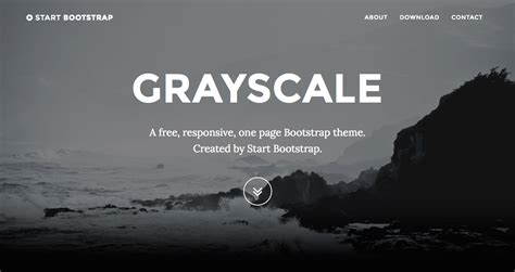 bootstrap themes for jekyll grayscale theme jekyll themes templates