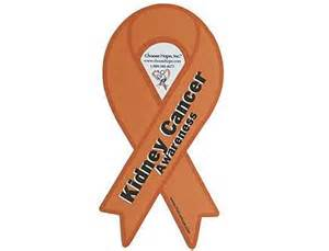 kidney cancer ribbon color ribbon cure kidney cancer