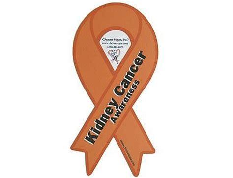 kidney cancer color ribbon cure kidney cancer
