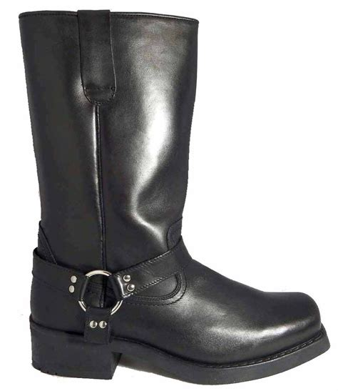 tall biker boots gringos mens high harley tall biker western harness