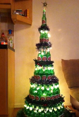 rum bottle xmas tree fails extravaganza