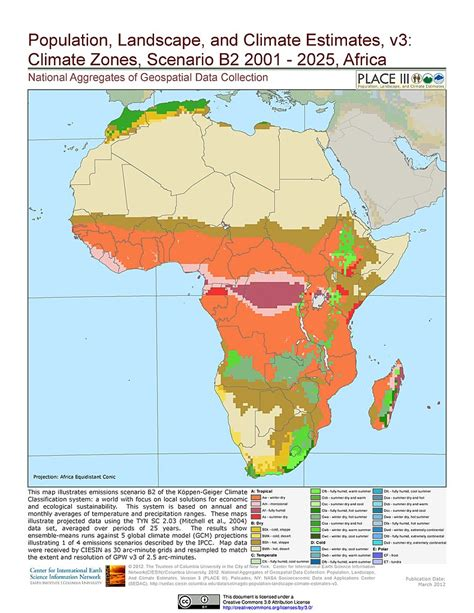 climate map of africa climate map of africa