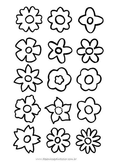flores para dibujar faciles pintar im genes flores para pintar az dibujos para colorear
