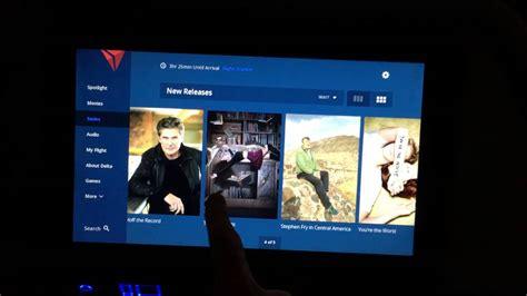delta flight entertainment new delta airlines in flight seat back entertainment