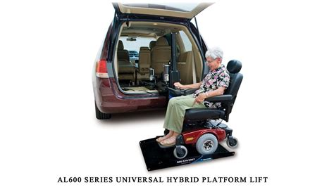 harmar al universal hybrid platform lift installation guide youtube