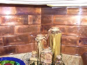 Copper backsplash gallery the copper backsplash company