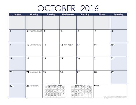 printable calendar uae 2016 october 2016 printable calendar templates blank calendar