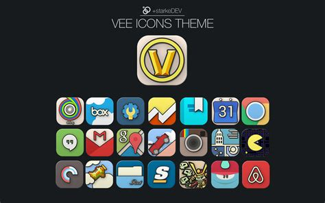 play store themes android vee icons theme android apps on google play