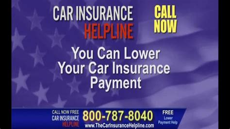 Car Insurance Helpline TV Commercial, 'Lower Your Payment