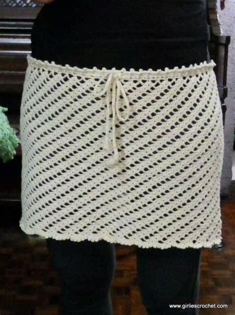 crochet cover up pattern free cover up skirt