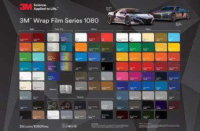 wrap colors 3m 1080 wrap series
