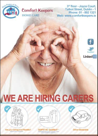 Comfort Keepers Careers by Comfort Keepers Health Care Assistant Balbriggan In