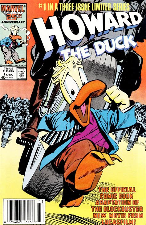 marvel film howard the duck howard the duck the movie vol 1 1 marvel database