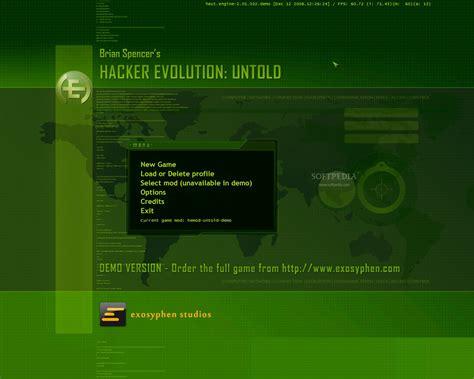 download mod game hacker evolution hacker evolution untold demo download