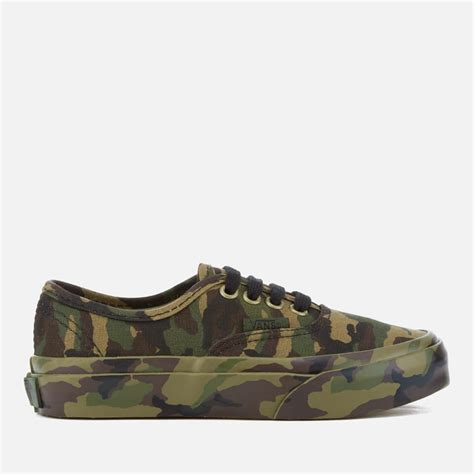vans authentic mono print trainers classic camo