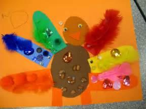 Thanksgiving Art Preschool Thanksgiving Colorful Art Turkeys Fun Family Crafts
