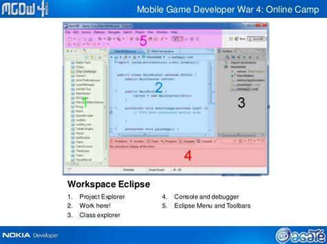 membuat game j2me online c 1 pengenalan j2me eclipse dan game canvas