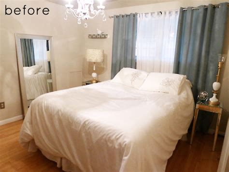 small bedroom makeover before after bedroom makeover design sponge