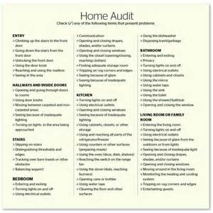 home design checklist problem solver comprehensive universal design checklist