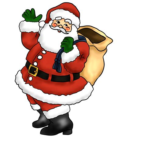 free to use public domain santa claus clip art page 4