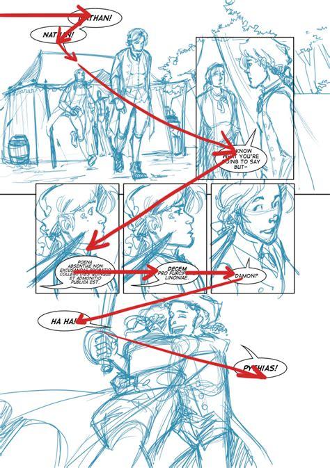 cara layout novel comic layout tutorial comic balloons clarity