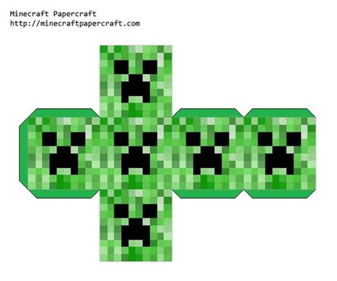 Minecraft Papercraft Creeper - minecraft papercraft block creeper anthony s
