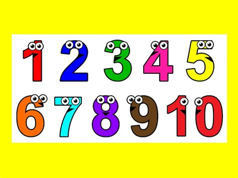 one to ten and 1 to 10 numbers lesupercoin printables worksheets