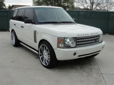2003 range rover price 2003 land rover range rover hse data info and specs