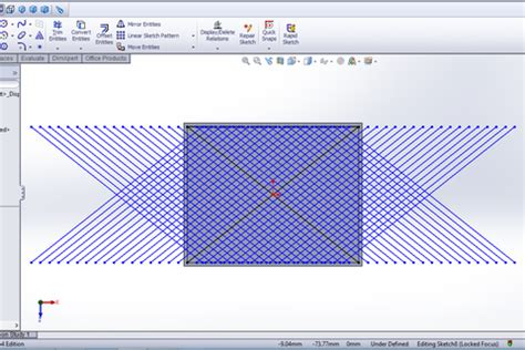 solidworks linear sketch pattern both directions how to model a mesh in solidworks grabcad