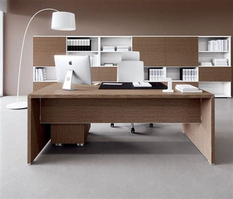 Individual Desk by Individual Desks Workstations York Managerial Line 01