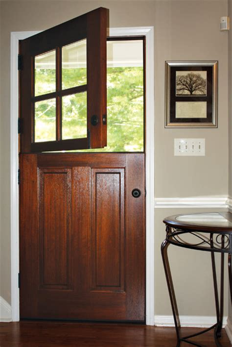 Square Top Doors Farmhouse Entry Raleigh By Dsa Farmhouse Exterior Doors
