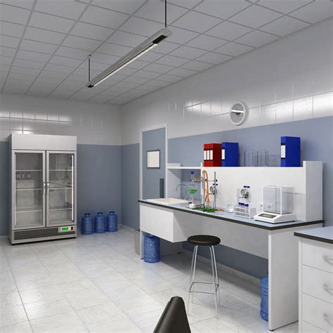 3d design lab google chemistry laboratory 3d model