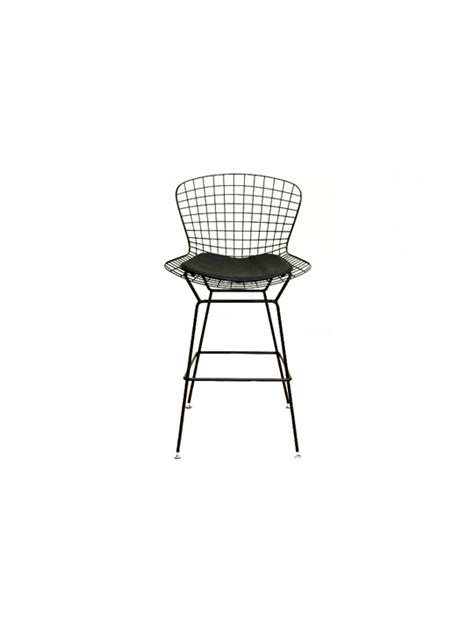 Wire Bar Stools Black by Black Wire Bar Stool Modern Furniture Brickell Collection