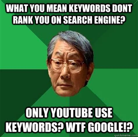 Meme Search Engine - what you mean keywords dont rank you on search engine