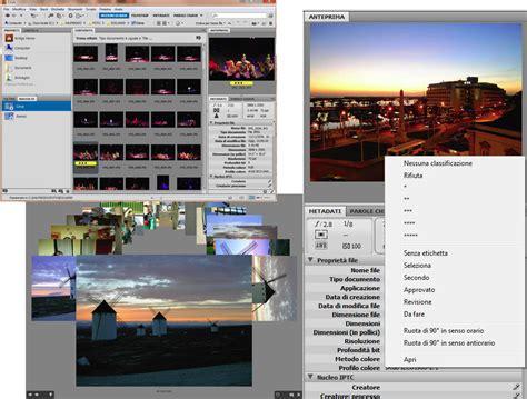 adobe bridge workflow workflow nella fotografia digitale mauro dalfreddo
