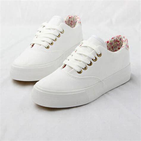 imagenes de tenis adidas blancos para mujer 2015 new canvas shoes women flats platform white floral