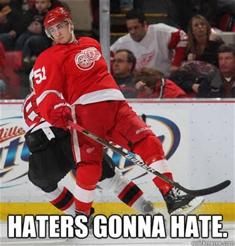 Red Wings Meme - haters gonna hate misc quickmeme